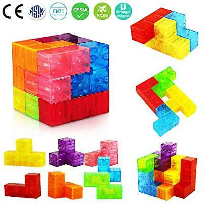Aitey Magnetic Building Blocks, Magnetic Tiles for Kids Educational Toys Stress