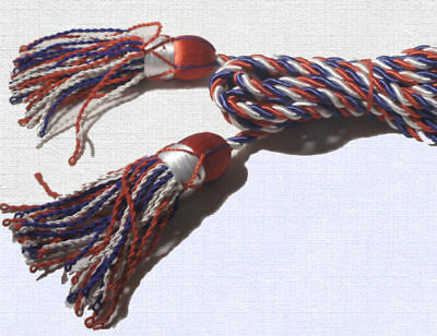 Red White and Blue flagpole cords