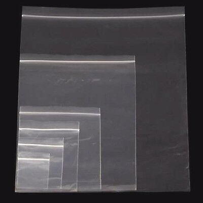 Heavy Duty Grip seal Clear plastic bags 75 Microns 300 Gauge Very Strong Cheaper