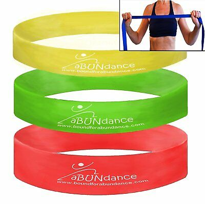 Exercise Bands Resistance Loop Set Fitness Workout Yoga CrossFit Workout Band