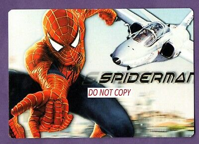 valentines gift idea - SPIDERMAN CALENDAR CARDS X 6    FAST POST FROM UK SELLER