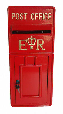 Royal Mail Letter Box.Er Royal Mail Post Box Er Ii Pillar Box Red Cast Iron Post