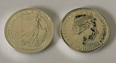 2013 Great Britain 1 oz Silver Brittania Coin BU, 1 oz of .999 Fine Silver