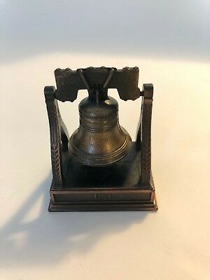 Liberty Bell Die Cast Bronze Pencil Sharpener - New Without Box