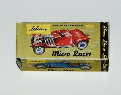 Reprobox für den Schuco Micro-Racer 1036 - Ford Custom Roadster Hot Rod