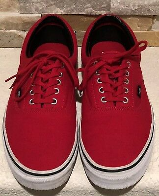 d6f8515cef Men s VANS Atwood Deluxe Skate Shoes  Red  11.5   EXCELLENT USED CONDITION