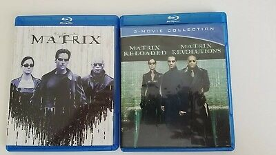 The Matrix, Reloaded and Revolutions Blu-ray