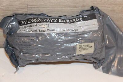 "12"" Israeli Bandage Emergency Trauma Wound Dressing HemCon 2022 NEW"