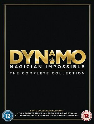 Dynamo - Magician Impossible: Series 1-4 (Box Set) [DVD]