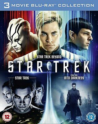 Star Trek/Star Trek Into Darkness/Star Trek Beyond (Box Set) [Blu-ray]