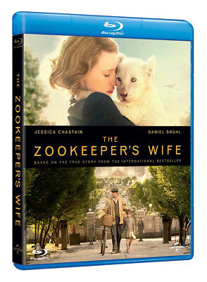 The Zookeeper's Wife (with Digital Download) [Blu-ray]