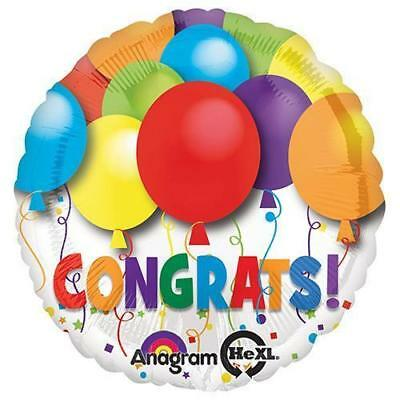 "17"" Bold Congratulations Foil Mylar Balloons by Anagram"