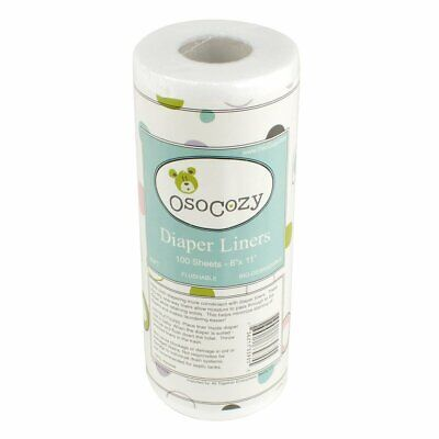 OsoCozy Flushable Diaper Liners