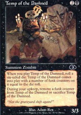 MTG *CCGHouse* Magic Wet Willie of the Damned X4 Unhinged NM