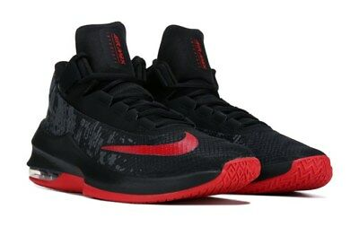 NIKE MENS ZOOM Evidence Iii Black Red Basketball Shoes 2019