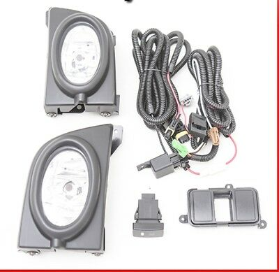 """For 16-18 Honda Civic /""""Factory Style/"""" Fog Lights Driving Lamps Replacement Pair"""
