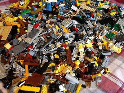 Lego 1-99 Pounds of Large, Big, and Small Lego Pieces HUGE BULK LOT w/Minifig