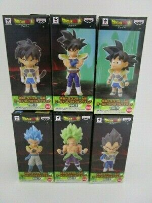 Dragon Ball Super Broly World Collectable Figure Movie ver. vol.3 All 6 type set