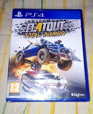 Flatout total insanity ps4 pal España playstation 4