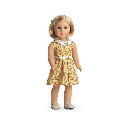 ~ New in Box ~ American Girl Kit Floral Print Dress Shoes Barrette Outfit