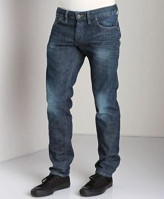 66d6ba82a28 G-Star Raw Red Listing 3301 Low Tapered Selvedge W32 L34 RRP £124 Denim