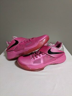 be2797e18824 Nike KD Aunt Pearl Entire Collection 4 5 6 7 8 Pink Breast Cancer White sz