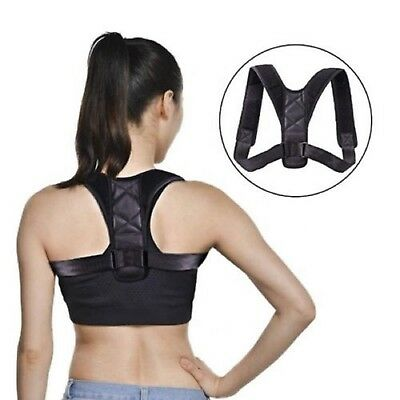 Posture Clavicle Support Corrector Brace Back Straight Strap Correct Shoulders