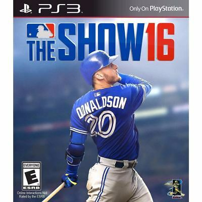 MLB 16 The Show☑️PlayStation 3 PS3☑️Digital Game☑️Download☑️Please Read