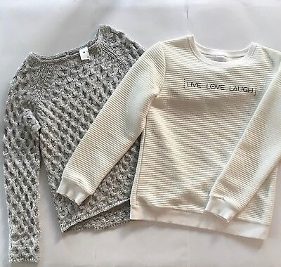 Lot of two girls pullover jumpers, size 14, target
