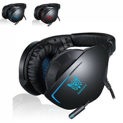ONIKUMA K7 Gaming Headset Stereo Noise-cancelling Wired Headphone LED Light U