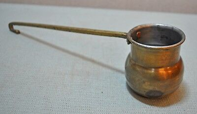 Old India Original Collectible Hand Crafted Brass Kitchenware Water Pot