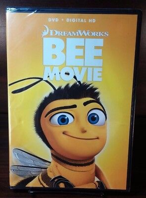 Dreamwork's Bee Movie 2007(DVD)Disc not Used-Only Digital Code taken-Free S&H