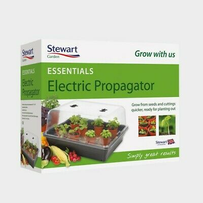 Stewart 38cm Essentials Electric Propagator (Black)