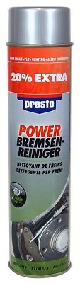 18x Presto Power Bremsenreiniger 600 ml