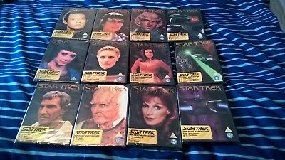 star trek the next generation tng collectors edition dvd volume 17-28 dvd joblot