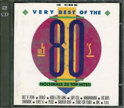 THE VERY BEST OF THE 80's Vol. 4 - 2CD-Sampler