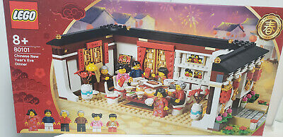 Us Seller Lego 80101 Chinese New Year Eve Family Dinner 2019 Asia Exclusive