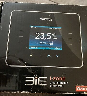 Warmup 3iE Programmable Thermostat New But With Imperfections Please See Photos