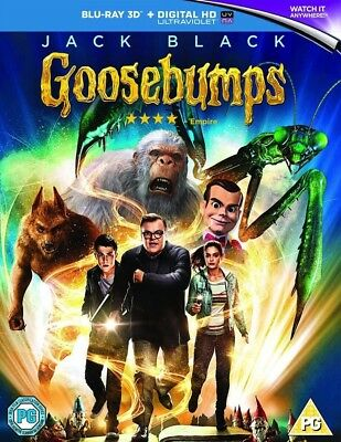Goosebumps 3D+2D Blu-Ray |( Jack Black) (2015)