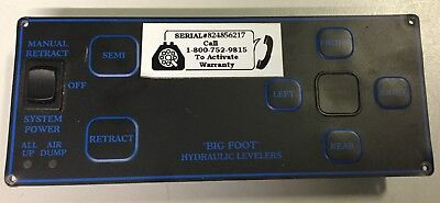 QUADRA 5TH WHEEL Bigfoot Hydraulic Leveling System