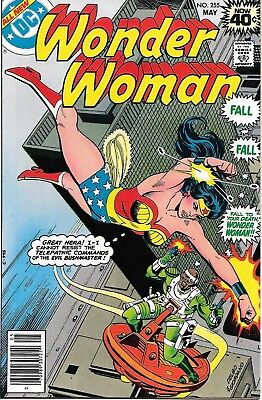 Wonder Woman #255 1979 (DC Comics) VF+/NM Has ad + Picture Lynda Carter 30% off
