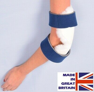 Elbow Protectors - Wool Pile / Polyester - Helps With Pressure Sores