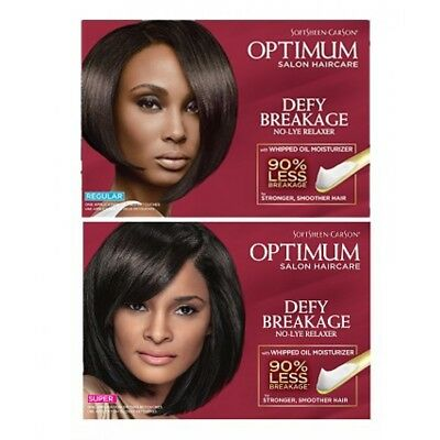 Optimum Care Defy Breakage No Lye Relaxer - Regular/Super