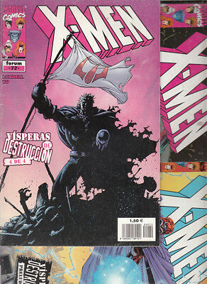 X-MEN. VOL.2  Nºs  70. 71. 72. VISPERAS DE DESTRUCCION ( LOTE 3  NUMEROS ) FORUM