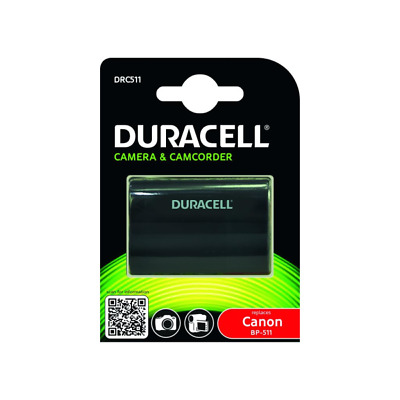 Duracell  Camera Battery - replaces Canon BP-511/BP-512 Battery Rechargable