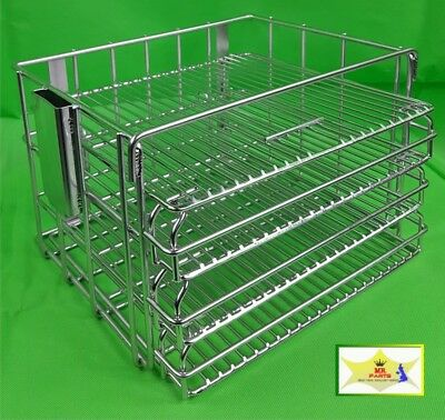 Gas Henny Penny Basket For Pressure Fryer Stainless Steel Without Hinges
