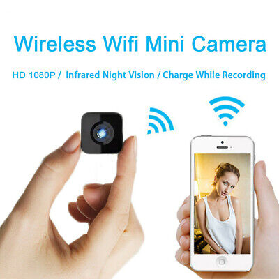 Mini Telecamera IP wireless Wifi Spia Full HD Video Nascosta Micro Spy DV Camera