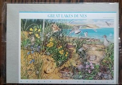 US #4352 2008 42c Great Lakes Dunes Sheet of 10 Nature of America tenth series