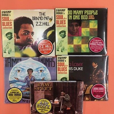 5  CD BUNDLE for $10 (Swamp DOGG SERIES)  70s SOUL MASTERS