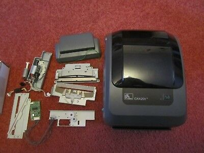 LOT PARTS ZEBRA GX420T Point of Sale Thermal Printer with